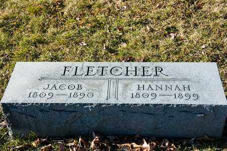 FLETCHER, HANNAH - Richland County, Ohio | HANNAH FLETCHER - Ohio Gravestone Photos