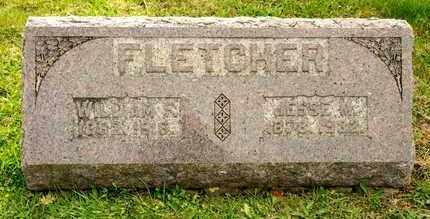 FLETCHER, WILLIAM F - Richland County, Ohio | WILLIAM F FLETCHER - Ohio Gravestone Photos