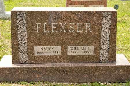 FLEXSER, WILLIAM H - Richland County, Ohio | WILLIAM H FLEXSER - Ohio Gravestone Photos