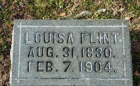 FLINT, LOUISA - Richland County, Ohio | LOUISA FLINT - Ohio Gravestone Photos