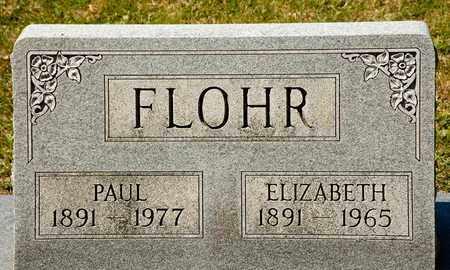 FLOHR, PAUL - Richland County, Ohio   PAUL FLOHR - Ohio Gravestone Photos