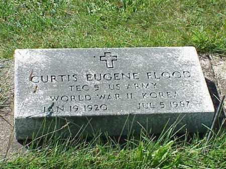FLOOD, CURTIS EUGENE - Richland County, Ohio   CURTIS EUGENE FLOOD - Ohio Gravestone Photos