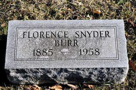 FLORENCE, BURR - Richland County, Ohio | BURR FLORENCE - Ohio Gravestone Photos