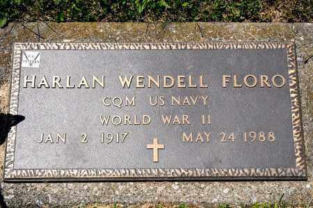 FLORO, HARLAN WENDELL - Richland County, Ohio   HARLAN WENDELL FLORO - Ohio Gravestone Photos