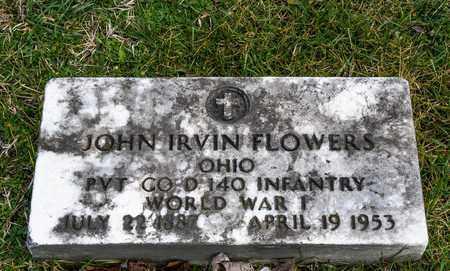 FLOWERS, JOHN IRVIN - Richland County, Ohio | JOHN IRVIN FLOWERS - Ohio Gravestone Photos