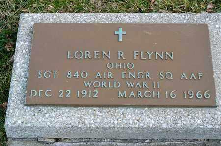 FLYNN, LOREN R - Richland County, Ohio | LOREN R FLYNN - Ohio Gravestone Photos