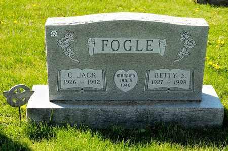 FOGLE, C JACK - Richland County, Ohio | C JACK FOGLE - Ohio Gravestone Photos