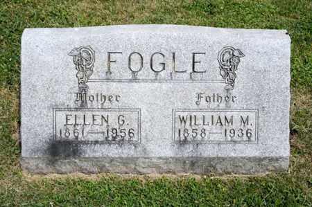 FOGLE, WILLIAM M - Richland County, Ohio   WILLIAM M FOGLE - Ohio Gravestone Photos