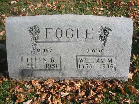 FOGLE, WILLIAM - Richland County, Ohio | WILLIAM FOGLE - Ohio Gravestone Photos