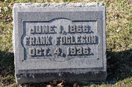 FOGLESON, FRANK - Richland County, Ohio | FRANK FOGLESON - Ohio Gravestone Photos