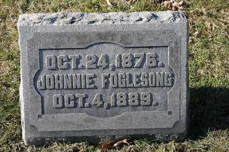 FOGLESONG, JOHNNIE - Richland County, Ohio | JOHNNIE FOGLESONG - Ohio Gravestone Photos