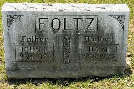 FOLTZ, IDA M - Richland County, Ohio   IDA M FOLTZ - Ohio Gravestone Photos