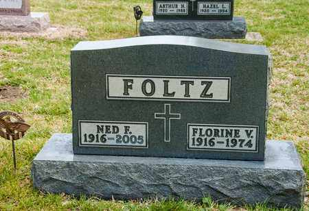 FOLTZ, NED F - Richland County, Ohio | NED F FOLTZ - Ohio Gravestone Photos