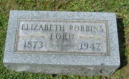 ROBBINS FORD, ELIZABETH - Richland County, Ohio   ELIZABETH ROBBINS FORD - Ohio Gravestone Photos