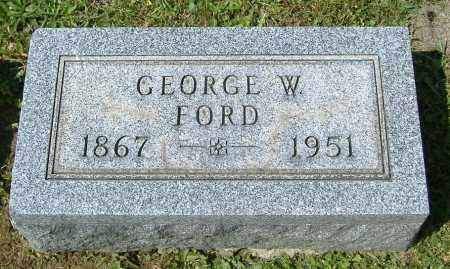 FORD, GEORGE WILLARD - Richland County, Ohio | GEORGE WILLARD FORD - Ohio Gravestone Photos