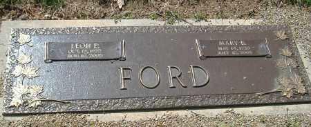 FORD, LEON P. - Richland County, Ohio | LEON P. FORD - Ohio Gravestone Photos