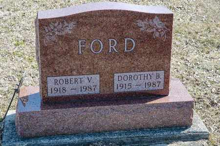 FORD, ROBERT V - Richland County, Ohio | ROBERT V FORD - Ohio Gravestone Photos