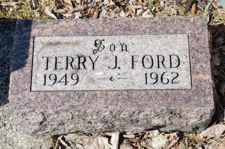FORD, TERRY J - Richland County, Ohio   TERRY J FORD - Ohio Gravestone Photos