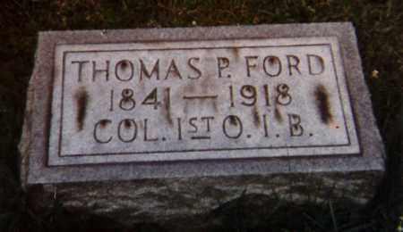 FORD, THOMAS PERRY - Richland County, Ohio | THOMAS PERRY FORD - Ohio Gravestone Photos