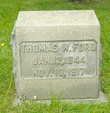 FORD, THOMAS W. - Richland County, Ohio   THOMAS W. FORD - Ohio Gravestone Photos