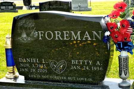 FOREMAN, DANIEL L - Richland County, Ohio   DANIEL L FOREMAN - Ohio Gravestone Photos