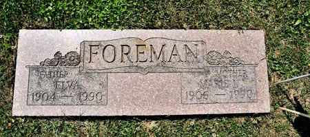 FOREMAN, ELVA - Richland County, Ohio   ELVA FOREMAN - Ohio Gravestone Photos