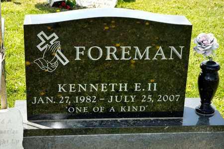 FOREMAN II, KENNETH E - Richland County, Ohio | KENNETH E FOREMAN II - Ohio Gravestone Photos