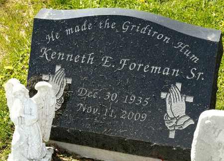 FOREMAN SR, KENNETH E - Richland County, Ohio | KENNETH E FOREMAN SR - Ohio Gravestone Photos