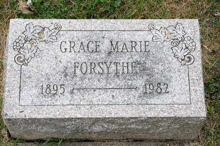 FORSYTHE, GRACE MARIE - Richland County, Ohio | GRACE MARIE FORSYTHE - Ohio Gravestone Photos