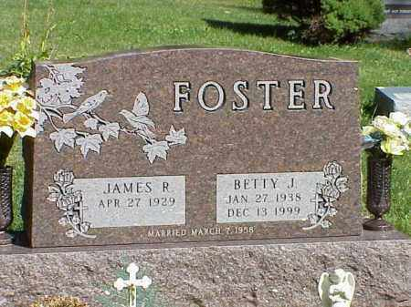 FOSTER, BETTY J. - Richland County, Ohio | BETTY J. FOSTER - Ohio Gravestone Photos