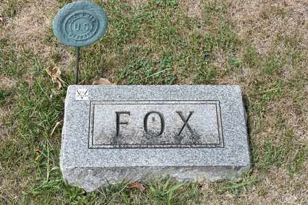 FOX, CLARENCE ELMER - Richland County, Ohio | CLARENCE ELMER FOX - Ohio Gravestone Photos