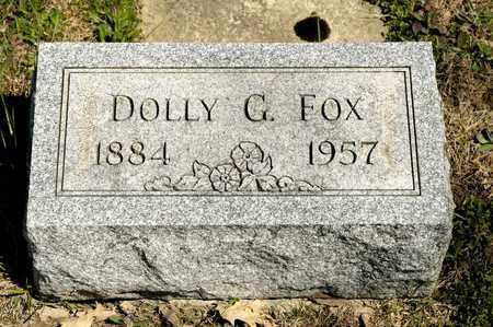 FOX, DOLLY G - Richland County, Ohio | DOLLY G FOX - Ohio Gravestone Photos