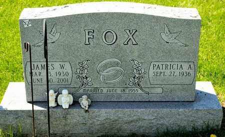 FOX, JAMES W - Richland County, Ohio | JAMES W FOX - Ohio Gravestone Photos