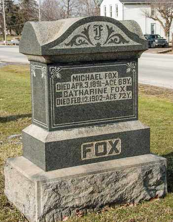 FOX, CATHARINE - Richland County, Ohio | CATHARINE FOX - Ohio Gravestone Photos