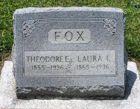 FOX, THEODORE E - Richland County, Ohio | THEODORE E FOX - Ohio Gravestone Photos