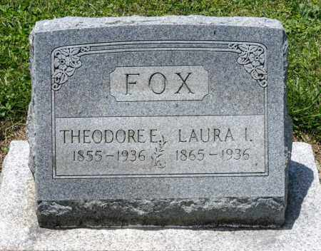 FOX, LAURA I - Richland County, Ohio   LAURA I FOX - Ohio Gravestone Photos