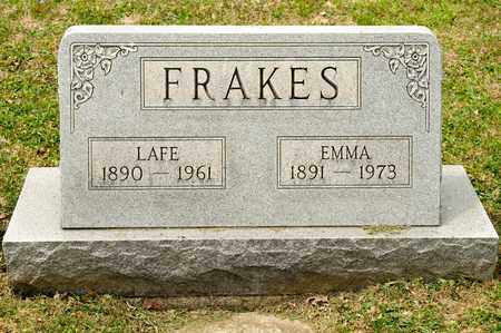 FRAKES, LAFE - Richland County, Ohio | LAFE FRAKES - Ohio Gravestone Photos