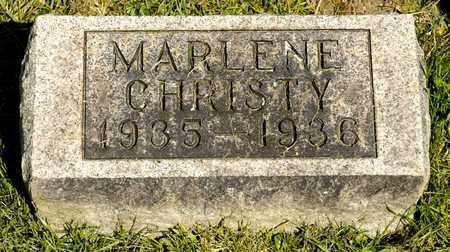 FRAKES, MARLENE CHRISTY - Richland County, Ohio | MARLENE CHRISTY FRAKES - Ohio Gravestone Photos