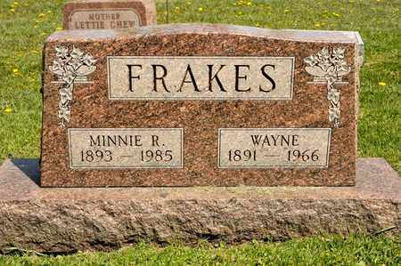 FRAKES, MINNIE R - Richland County, Ohio | MINNIE R FRAKES - Ohio Gravestone Photos