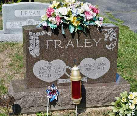 FRALEY, HAROLD G - Richland County, Ohio   HAROLD G FRALEY - Ohio Gravestone Photos