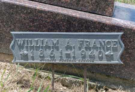 FRANCE, WILLIAM A - Richland County, Ohio | WILLIAM A FRANCE - Ohio Gravestone Photos