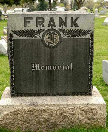FRANK, JOHN H - Richland County, Ohio | JOHN H FRANK - Ohio Gravestone Photos