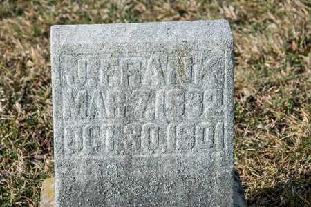 FRANK, J - Richland County, Ohio   J FRANK - Ohio Gravestone Photos