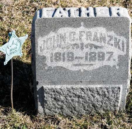 FRANZKI, JOHN C - Richland County, Ohio | JOHN C FRANZKI - Ohio Gravestone Photos