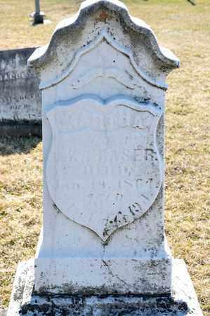 FRASER, MARTHA - Richland County, Ohio | MARTHA FRASER - Ohio Gravestone Photos
