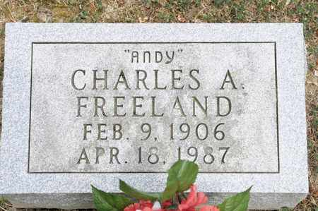 """FREELAND, CHARLES A """"ANDY"""" - Richland County, Ohio 