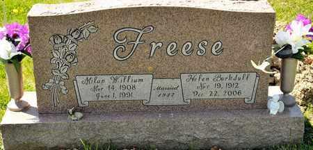 FREESE, HELEN - Richland County, Ohio | HELEN FREESE - Ohio Gravestone Photos
