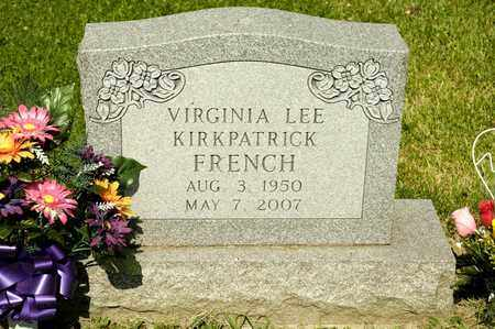 FRENCH, VIRGINIA LEE - Richland County, Ohio | VIRGINIA LEE FRENCH - Ohio Gravestone Photos