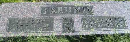 FREUND, ELIZABETH - Richland County, Ohio | ELIZABETH FREUND - Ohio Gravestone Photos