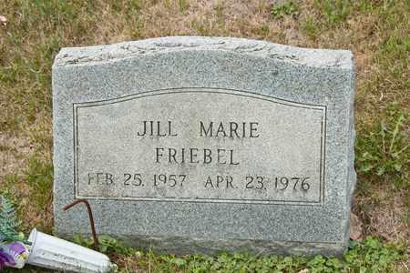 FRIEBEL, JILL MARIE - Richland County, Ohio | JILL MARIE FRIEBEL - Ohio Gravestone Photos